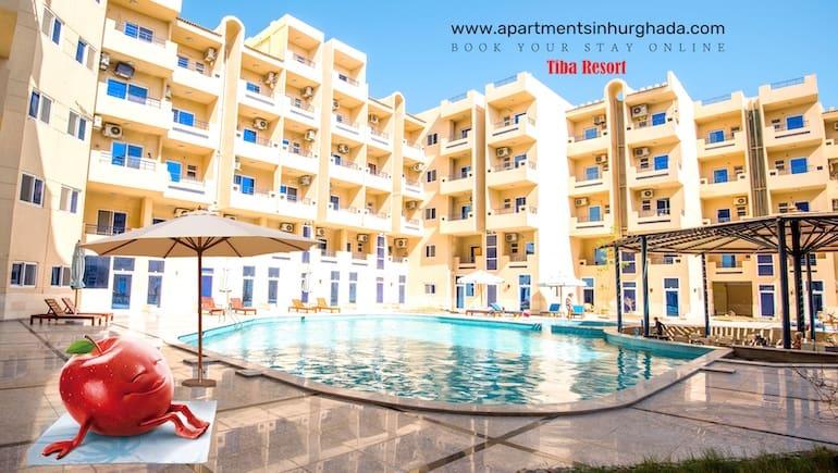 Our Holiday Rentals in Hurghada Feels Like Home - Poolside Tiba Resort P4 - Book Online - www.apartmentsinhurghada.com -