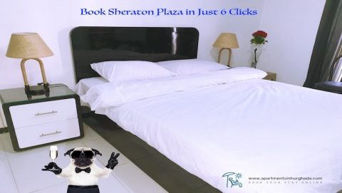 Vacation Rentals in Hurghada - Book in Just 6 Clicks - Sheraton Plaza by the New Marina - www.apartmentsinhurghada.com -