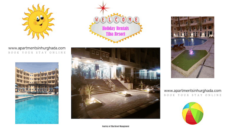 Welcoming Holidaymakers To Our Holiday Rentals @ Tiba Resort Hurghada - www.apartmentsinhurghada.com -