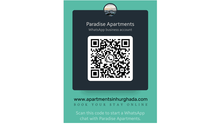 Book Our Award Winning Holiday Rentals in Hurghada Online - Chat With Us on WhatsApp - www.apartmentsinhurghada.com -