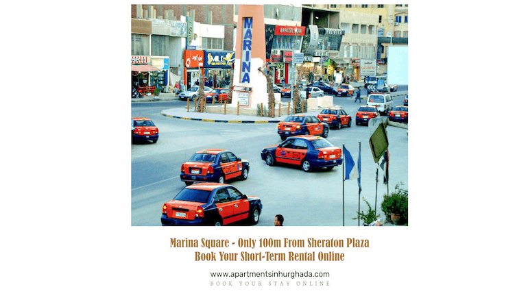 Get a Taxi in Central Hurghada - A Small Guide - Book Our Award-Winning Holiday Rentals in Hurghada Online - www.apartmentsinhurghada.com -