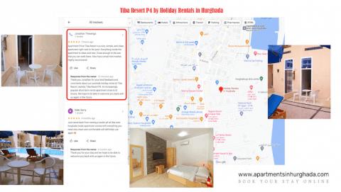 Nice And Clean Holiday Rental in Hurghada - Tiba Re -sort P4 - Great Reviews - Book on www.apartmentsinhurghada.com