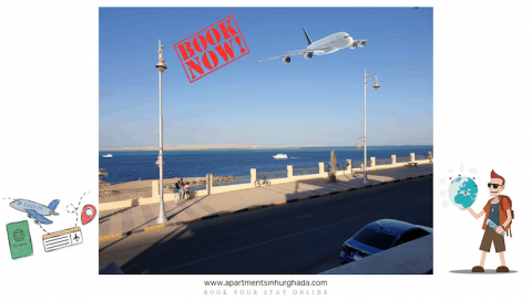 Holiday Rentals in Hurghada That Are Very Busy 2021 With Many Happy Guests - Book Your Short-Term Rental Online - www.apartmentsinhurghada.com -