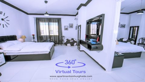 New Photos and Virtual Tours in the Making For Sheraton Plaza in Hurghada - Book Your Holiday Rental Online - www.apartmentsinhurghada.com -