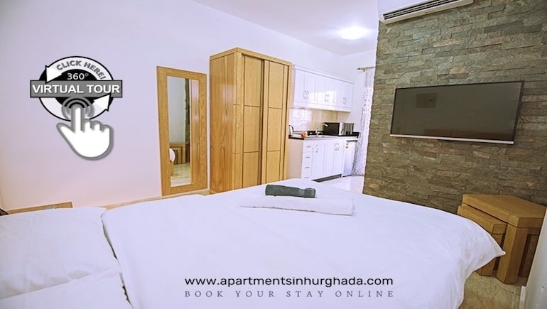 New Photos and Virtual Tours in the Making For Tiba Resort in Hurghada - Book Your Vacation Rental Online - www.apartmentsinhurghada.com -