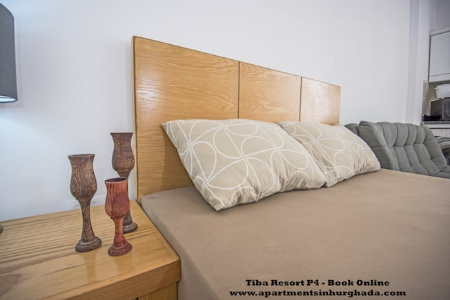 Tiba Resort P4 - Popular Poolside Vacation Rental in Hurghada - Close To El Gouna - Up to 4 persons - Book On www.apartmentsinhurghada.com -